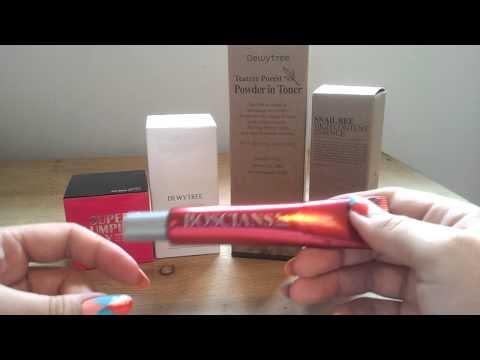 Memebox Skincare Box Recap