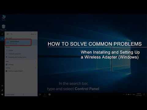 How to Solve Common Problems When Installing and Setting Up a Wireless Adapter (Windows)