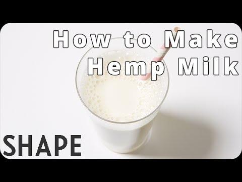 How to Make Hemp Milk | Shape