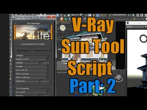 Vray SUN TOOL For 3DsMax Part:2
