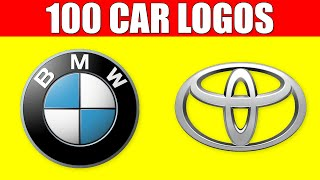 CAR LOGOS and NAMES - Learn the Logos of 100 Best Car Brands