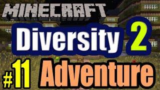 MINECRAFT DIVERSITY Parte AVENTURA Coop WKarad Gameplay - Minecraft map diversity 2 1 11