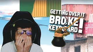 CARRYMINATI GETTING OVER IT | FUNNIEST MOMENTS | BROKE KEYBOARD