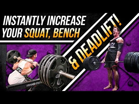 Add 20 - 30 Pounds To Your MAX BENCH, DEADLIFT & SQUAT! - Assistance Lifts| NEW PRs IN  3 - 4 WEEKS!
