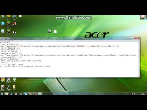 How To Install World Edit 1.7.10 Single-Player