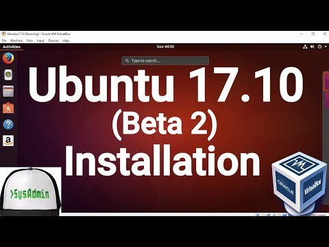 Ubuntu 17.10 Beta 2 Installation + Guest Additions on Oracle VirtualBox [2017]
