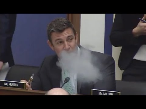 Congressman From California Is A Vape Crusader - Newsy