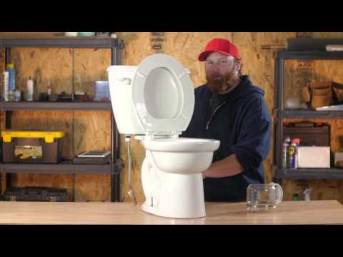 How to Drain a Toilet Bowl When the Flush Is Broken : Toilet Tips