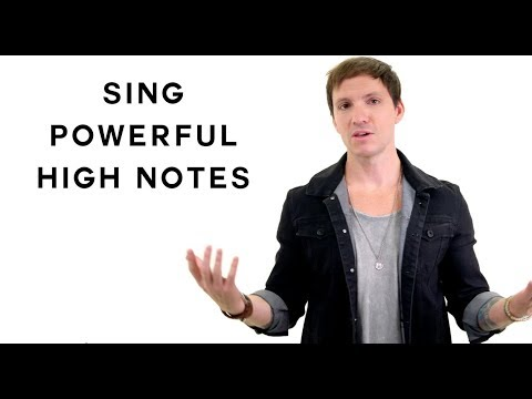 Sing Powerful High Notes