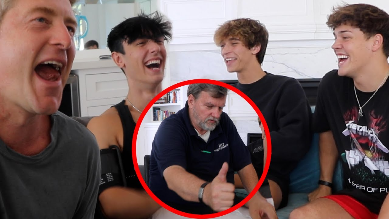 SWAY HOUSE TAKES A LIE DETECTOR TEST!!