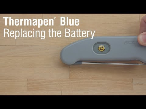 Thermapen Blue: Replacing the Battery