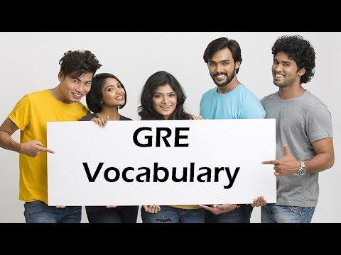 Simplifying GRE Vocab