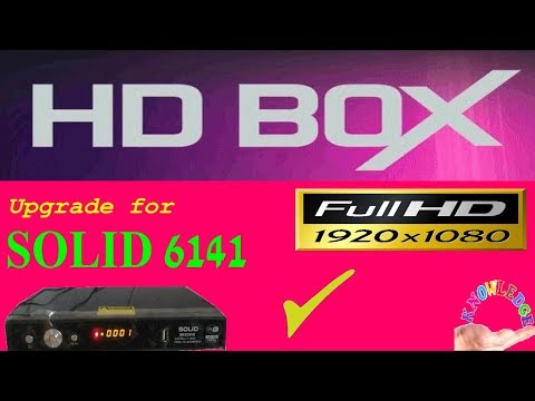 HD BOX Firmware upgrade for SOLID 6141 - The Most Popular High