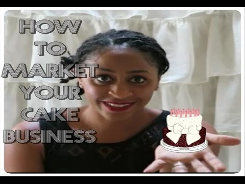 3 Tips on How to Market & Start A Cake Business | Tutorial - Sharron's Take
