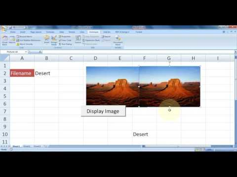 Microsoft Excel How To Display Image In Excel Using Vba