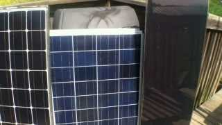 Types of solar panels and the best applications to use them for power production