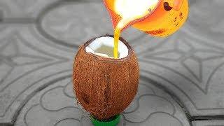EXPERIMENT: LAVA VS COCONUT
