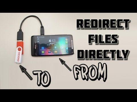 Redirect Files Directly To USB OTG On Android