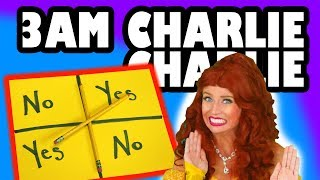 3 AM Challenge Charlie Charlie Pencil Game. Totally TV