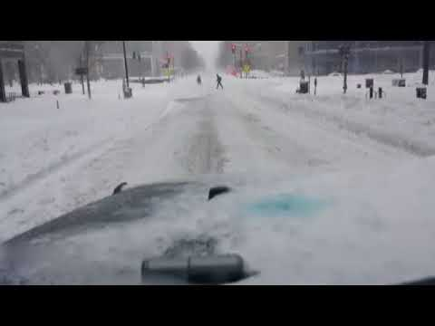 Drive Through the DC Snowstorm of 2016 part1