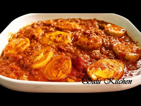 Quick & Easy Naadan Mutta Curry / Egg Curry