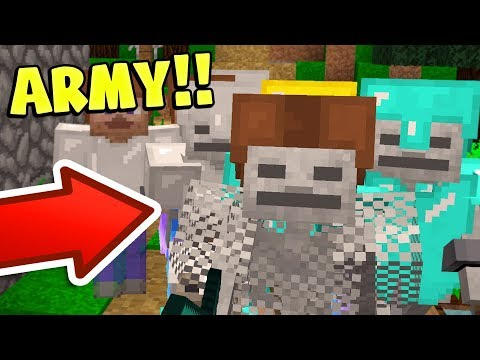 COMMAND YOUR OWN MINECRAFT ARMY!!