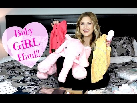 💖Big Baby GIRL Haul!! Clothes, Shoes, Blankets & More!!💖