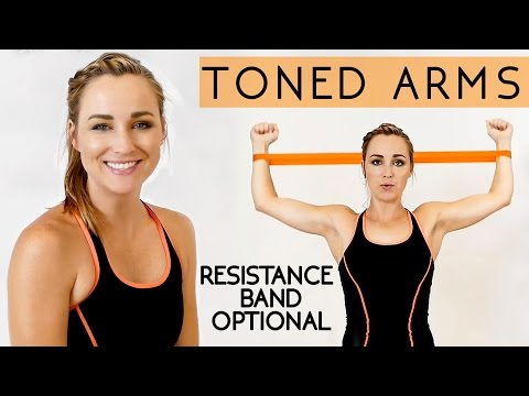 Toned, Tank Top Arms in 12 Minutes! How to Lose Arm Fat Workout for Beginners, Home Fitness