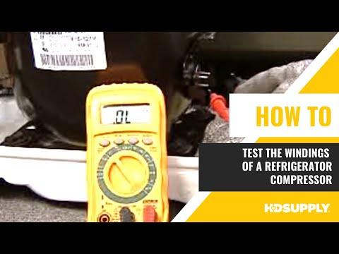 GE Refrigerator- Compressor Testing  - HD Supply Facilities Maintenance