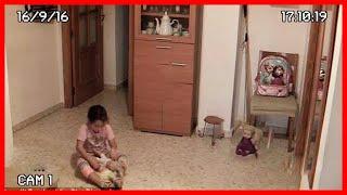 ПОЛТЕРГЕЙСТ В ДОМЕ Управляет Куклой (Страшное Видео, Привидение, Призрак, Демон)
