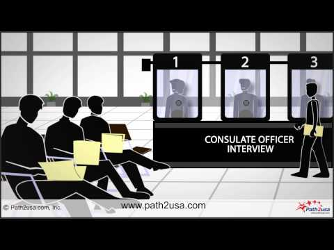 USA Visa Interview Process at US Embassy or Consulate in India