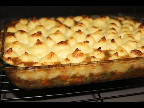 Vegetarian Shepherd's pie by Seba Nagy- English