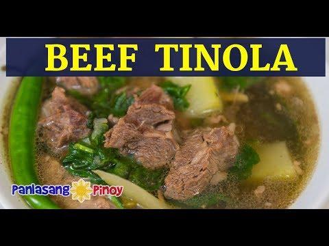 Beef Tinola | Tinolang Baka | Filipino Beef Soup with Green Papaya