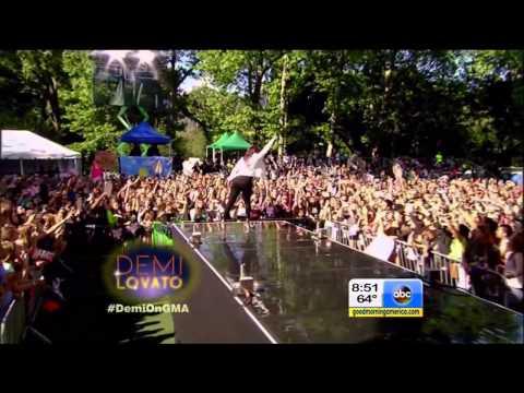 Demi Lovato Full Good Morning America Concert Performance   LIVE 6 6 14