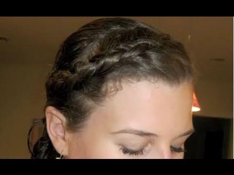 Dutch or Inside-Out French Braid Headband