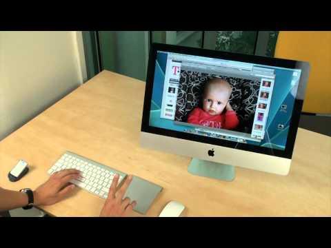Apple Magic Trackpad a iMac