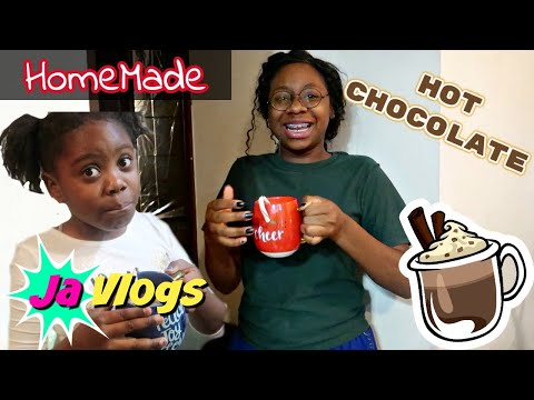 Xxx Mp4 HomeMade Hot Chocolate With The Kids Vlogmas Day 22 Amp 23 2017 JaVlogs 3gp Sex