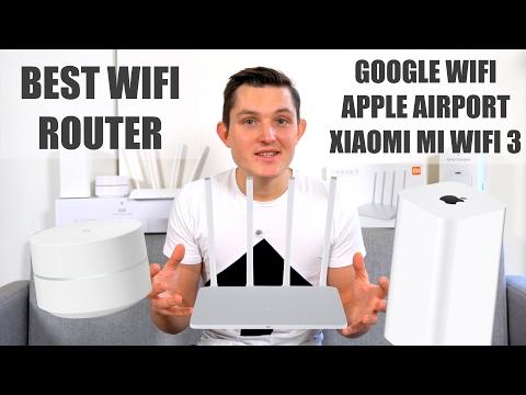 Best Wifi Router Test - Google Wifi vs Apple Airport Extreme vs Xiaomi Mi Wifi 3