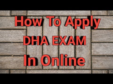 Dubai Health Authority DHA Exam Online APPLY IN TELUGU || ABROAD PHARMACIST JOBS  || PHARMA GUIDE