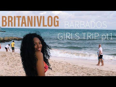Barbados Girls Trip pt1   BRITANIVLOG
