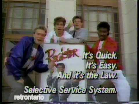 Selective Service 1984