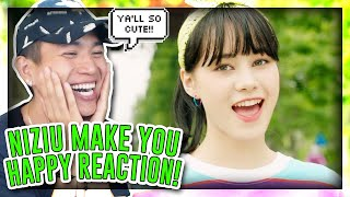 FIRST TIME REACTING TO NiziU 『Make you happy』 M/V![REACTION]