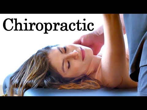 Neck & Foot Adjustment for Headaches & Tense Shoulders, Chiropractic Care with Dr. Echols