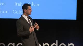 If you have a dream...never give up!: Mark Colbourne at TEDxKingsCollegeLondon