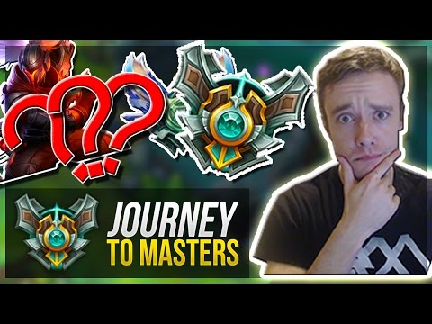 THE BIG DECISION..? | Journey To Masters #28 - League of Legends
