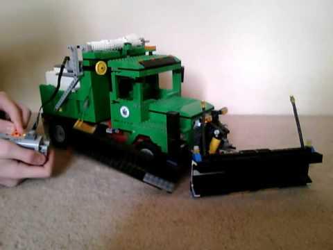 Lego Snow Plow (update wing plow)