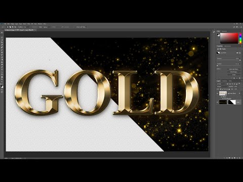 Remove Backgrounds From Text Effects in Photoshop