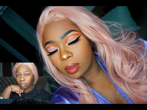 Valentine's Day Makeup Tutorial   For Brown/Darkskin WOC