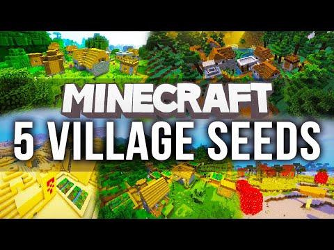 5 MINECRAFT VILLAGE SEEDS - Minecraft 1.10 Seeds (PC)
