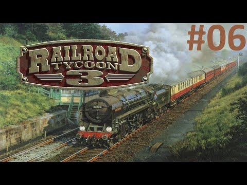Railroad Tycoon 3 - Investimento Industrial! ep 06